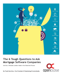 Guide to selecting mortgage software