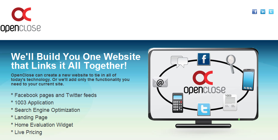 A New Breed of Custom Websites and loan broker software