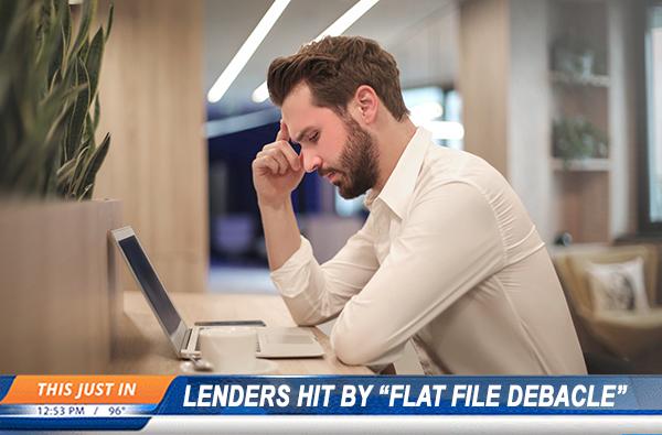 Flat File Debacle
